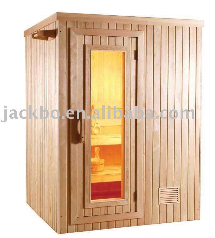 Sauna sala de vapor seco de madera maciza de madera - Productos para sauna ...