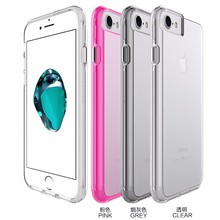 TPU PC crystal Cell Phone Case for iphone 6 wholesale clear phone case
