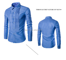 Direct manufacture for custom design man dress shirts