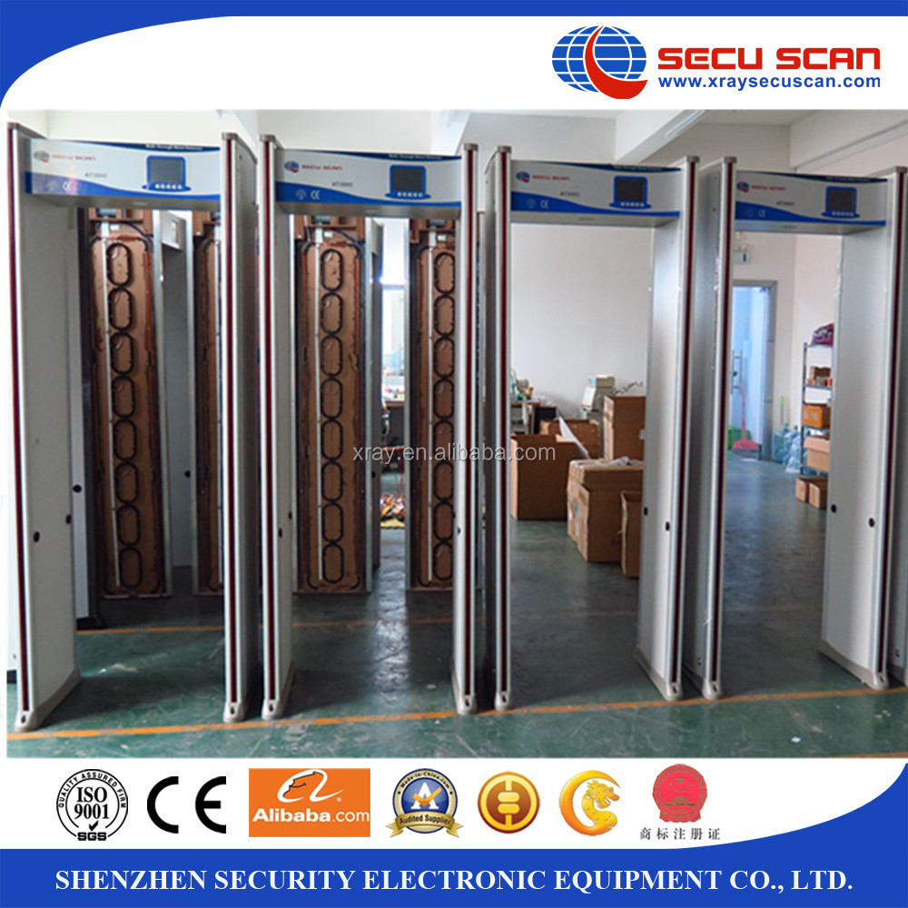 Security Metal Detector Gates for church, government offices