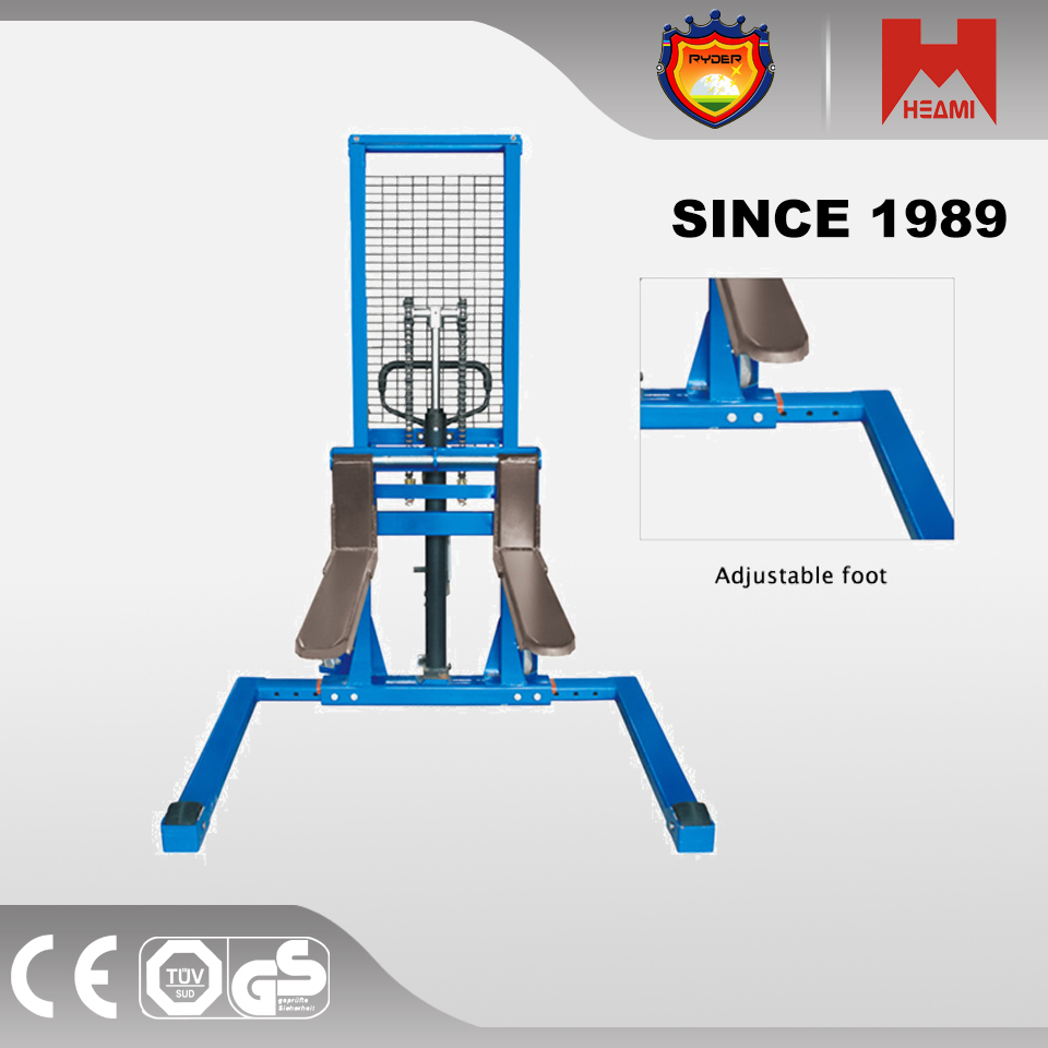 1000KG None Power Souce and New Condition Manual Straddle Stacker good sell in alibaba
