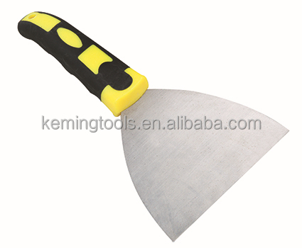 Co-molded handle 2''-5'' high quality putty knife