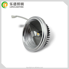 15w external driver high cri 95ra dimmable ar111 led with cheap factory price