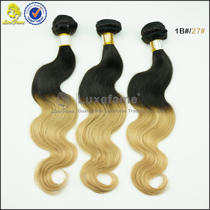 Luxefame machine tight weft,brazilian full ends cheap double weft hair extensions
