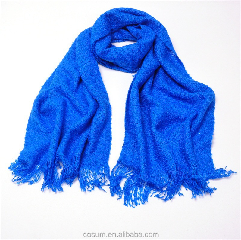 19 colors New material arrived pure color winter scarf
