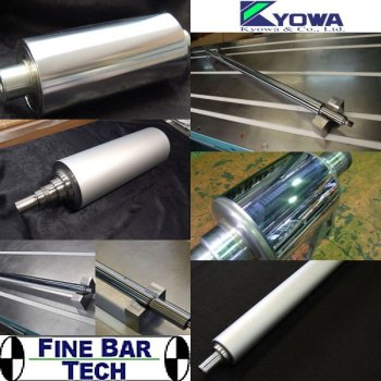 Back Up Roll & Work Roll (Made by Fine Bar Tech, Japan)