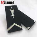 Custom design military uniform soft pvc military epaulet