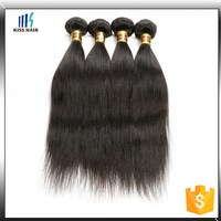 Hot 2015 wholesale virgin unprocessed cheap alibaba hair
