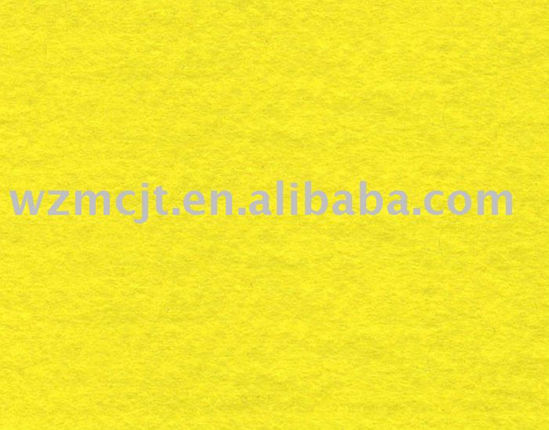 Oeko-Tex Standard 100 China Bright Yellow Needle Punched Nonwoven Wiping Rag