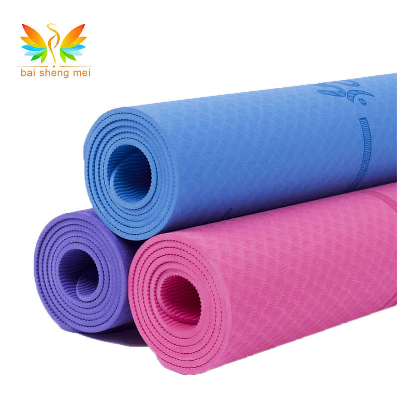 China suppliers wholesale cheap TPE Yoga Mat Non toxic patented eco-friendly yoga mat