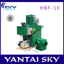 CE appoved flooring waste oil heater, waste oil burner heater, fire tube heater