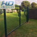 Factory direct manufacture 2.5 m wide welded 3 d curved wire mesh fence