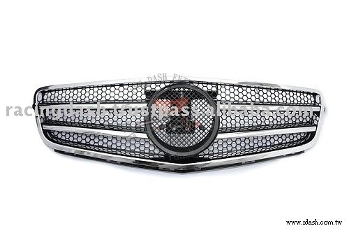Front Grille For MERCEDES-BENZ W204