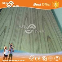 Crown Cut walnut veneer laminated MDF board price