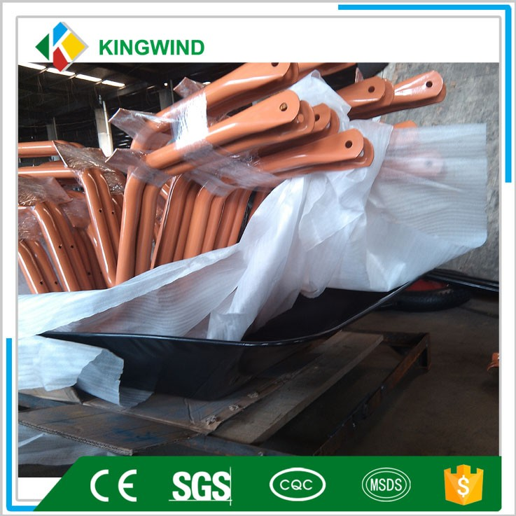 85L Galvanized Steel Garden Wheelbarrow WB5009