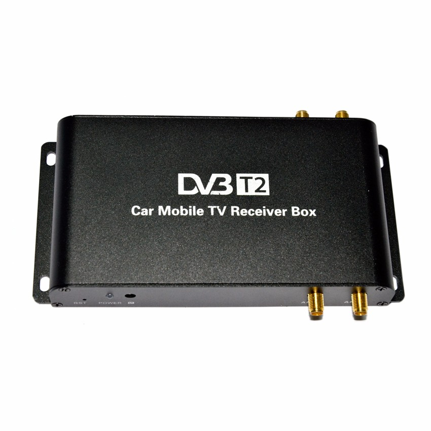 SYTA S2013C 4 antennas support high speed 180km/h hd car dvb-t2 car digital tv receiver fully compatible with car dvb t2 h.265