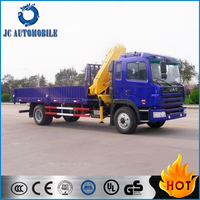4x2 JAC 2 - 20 tons Truck Mounted Crane/Truck Crane/JAC Truck with Crane for Sale