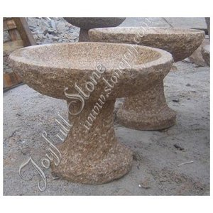 Outdoor Granite Birdbaths garden stone bird bath