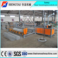 Hot Sale Competetive Price Fully Automatic Chain Link Fence Machine/Wire Mesh Weaving Machine