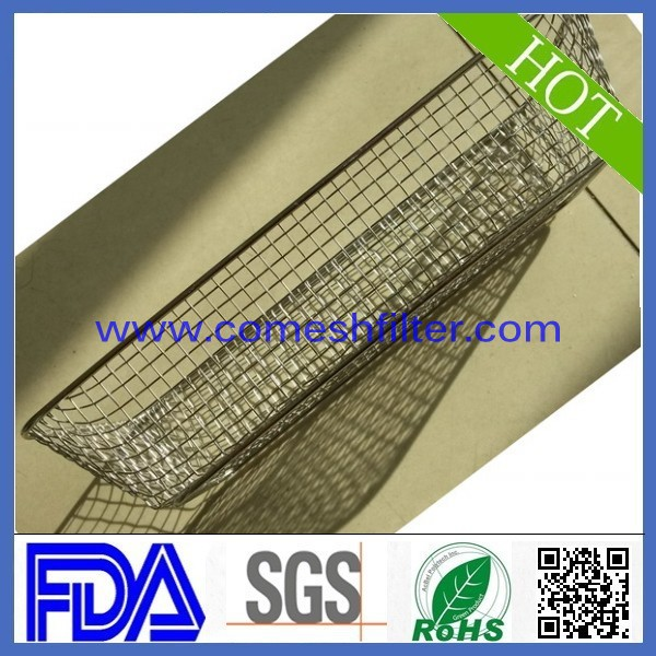 Stainless Steel Flow Fish Filter Guard Net Shrimp Safe Protect wire mesh basket Mesh