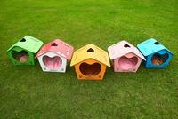 Detachable Plastic Dog Kennel Wholesale, Lovely Wholesale Dog Kennel Made in China