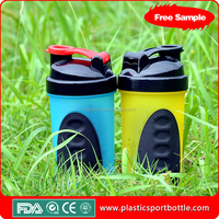 Colorful water shaker bottle water cup from leading factory in drinkware line for years