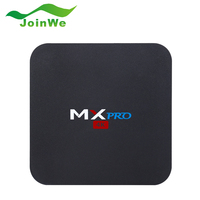 MX Pro 4K Kodi 16.1 Pre-installed Android 5.1 TV Box Amlogic S905 Quad Core WiFi H. 265