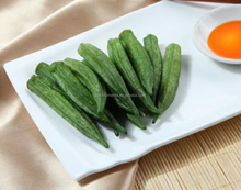 Vacuum fried Okra chips,healthy snack