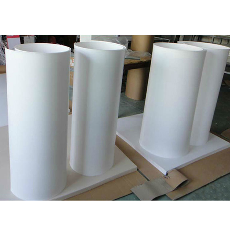 Pure high temperature white teflon material