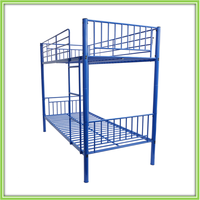 University student metal bunk beds up and down bed