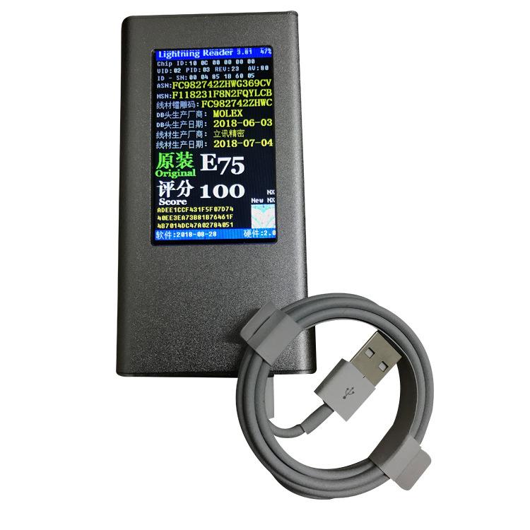 D'origine E75 Puce USb Câble Foxconn 1 m Longueur Câble USB Pour iPhone 7 8 Plus XR XS Max - ANKUX Tech Co., Ltd