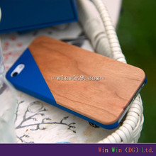 blank wooden phone cover for iphone6 ,wood case mobile accessories,used mobile phone case for iphone 4.7 inch