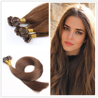 Factory price 1g/strand ,20inch double drawn U tip hair extension , good Itlay glue.easy to remove