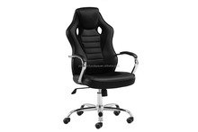 Leather Swivel Adjustable Desk chair Racing Gaming Office Chairs