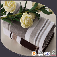 100 cotton Male Style bamboo fiber stripe face towels