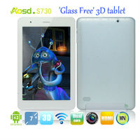Metal case 7 inch 3G sim and 3D tablet pc Slim fast weight loss tablets S730.