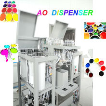 AO200 simultaneous automatic paint tinting equipment/0.077ml accuracy full automatic colorant dispenser machine