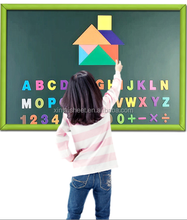 Custom size green/black/ white chalkboard PP plastic film