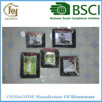 Metal Modern Photo Frame Collage for home decor
