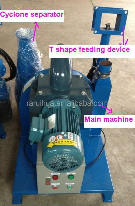 Base Material Edge Trimming Film high efficiency film material recycling machine
