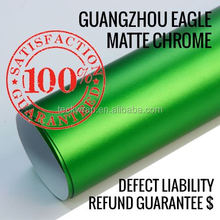 2015 New Silver Matte Chrome Brushed Car Wrapping Film, 3M Quality Car Full Body Wrap Vinyl Foil