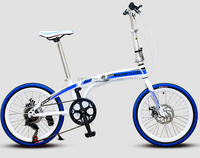 Folding mountian bike, folding mountain bicycle, 20 inch folding mountain bike for children