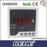dc analogue panel meter ac ammeter with 4-20ma output ammeter