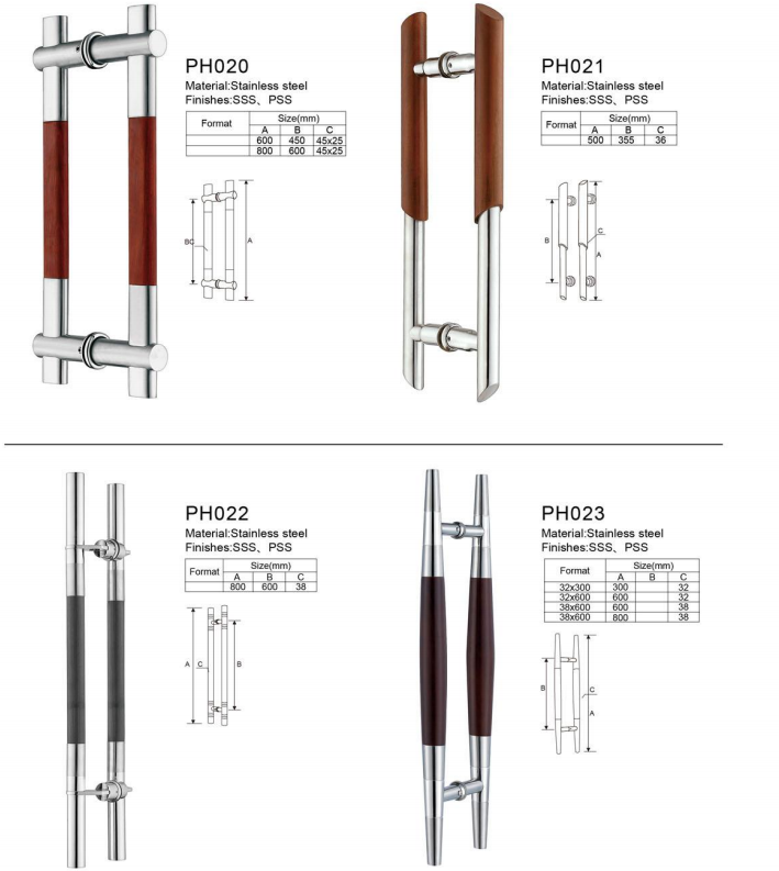 Best Selling Glass Sliding Door Door Pull