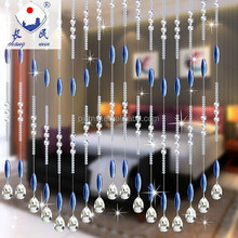 New Style Home Decor Crystal Bead Curtains for Room Divider ZLM001