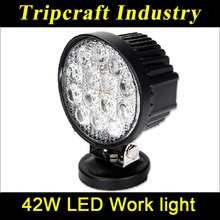 New arrival 42W 4'' Auto LED Work Light Off Road light Bar for offroad vehicle,atvs,truck,engineering vehicles