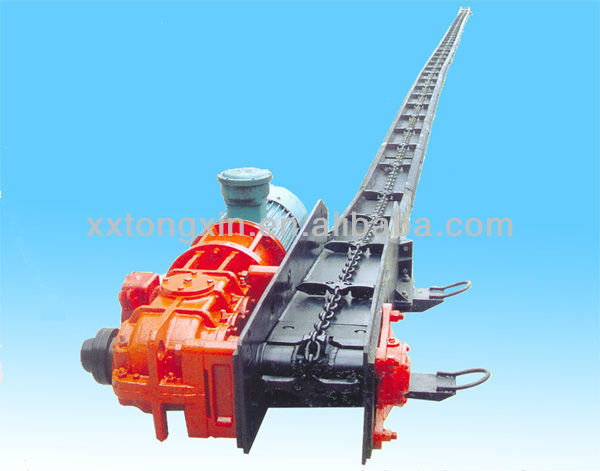 conveying distance is arbitrary selection MGS type small block material scraper conveyor for sale