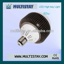 80W E40 LED High Bay Light with new design led for led miner lamp