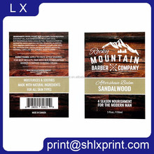 Custom Printed Easy Peel Off Glossy/Matt FIlm Lamination Self Adhesive Roll Sticky Label