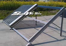 (Cheat Price) Direct Flow Vacuum Tube Non-pressurized Solar Collector for Swimming Pool Heating
